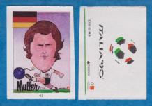 West Germany Gerd Muller Bayern Munich 65
